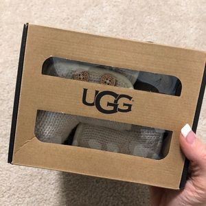 Baby UGG boots! Off white/cream color.